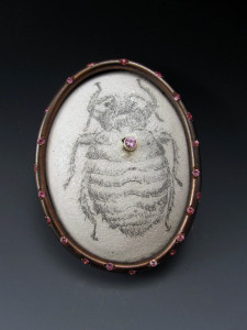 Bed Bug Brooch_Charity Hall