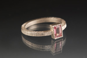 Hall_pink topaz ring