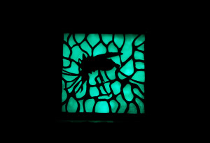 mosquito brooch glow