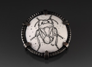 Stink Bug Brooch_2014