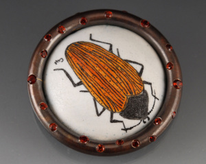 Orange Beetle Brooch_2014_small