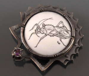 wheel bug brooch_2014_small