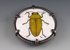 Golden Buprestid Brooch_2015_small
