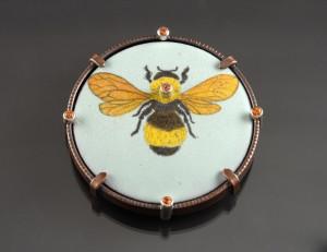 Bumblebee Brooch_2016_DSC_0306