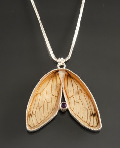Double Cicada Wing Necklace_2016_DSC_0102